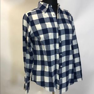 Checked Blue Flannel